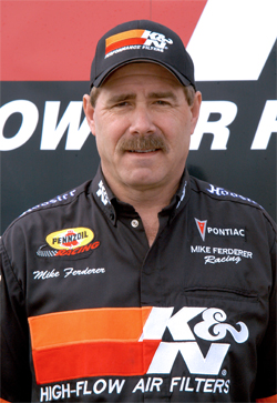 NHRA Racer Mike Ferderer tied Sheldon Gecker aka King Kong with the most national event wins ever in Super Gas
