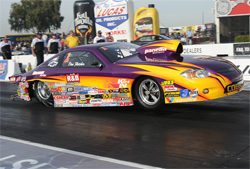 Rick Braun's 2008 Chevy Cobalt driven by Dan Fletcher to his 4th straight Competition Eliminator Title at NHRA National Events