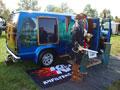 """""""Pirates of the Caravan"""" display K&N at Van Show"""