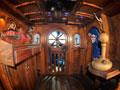 "Custom interior of the ""Pirates of the Caravan"""