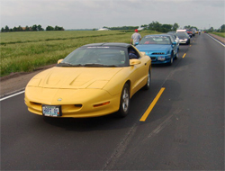 1994 Pontiac Firebird on the Hot Rod Power Tour