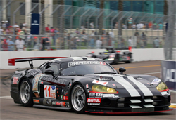 Primetime Race Group will next take its Viper to The Tequila Patron American Le Mans Series at Long Beach, California