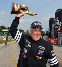 David Rampy took home another Wally after his Competition Eliminator Victory at the 55th Anniversary of the Mac Tools U.S. Nationals at Indianapolis