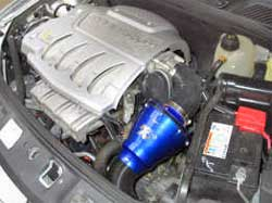 K&N Filters 57A-6010 for Renault Clio installed