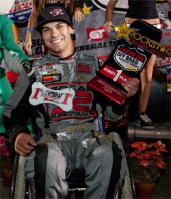 Ricky James Dominated the Super Lite Class at Lake Elsinore, California in the Lucas Oil Off Road Racing Series