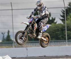 Rockstar Energy H&H Team Rider Steve Drew Tops Unlimited Class at XTRM/AMA Series in Monroe, Washington