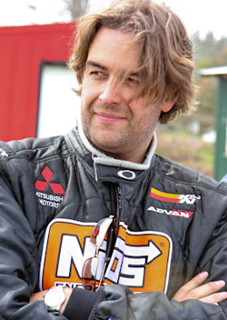Andrew Comrie-Picard will participate in the 2009 X-Games in his Mitsubishi