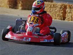 Jacob Pearlman at Apex Raceway