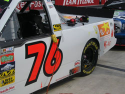 The team put most their efforts into the truck series were they hoped they would be the most competitive