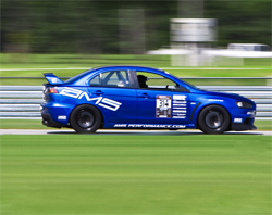 Ryan Gates was victorious in the Modified AWD Class, the Overall Modified Class Championship and set a new lap record at Carolina Motorsports Park for Modified Class in 2008 Mitsubishi Lancer Evo X, photo by Kyle McManus