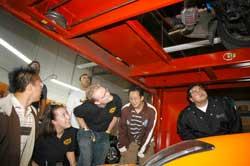 SAE Tour at K&N Engineering