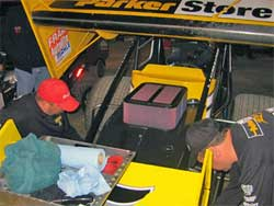 Donny Schatz and ParkerStore Team use K&N Products