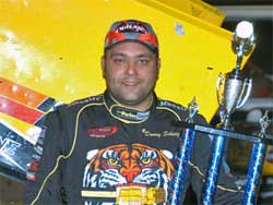 Donny Schatz wins at Houston Raceway Park
