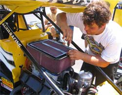 World of Outlaws 2006 Champion Uses K&N Products
