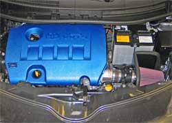 69-8615TS installed on a 2008 Scion xD