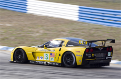No. 3 Compuware Corvette C6.R finished 6th overall in the GT1 Class at the Mobil 1 Twelve Hours of Sebring