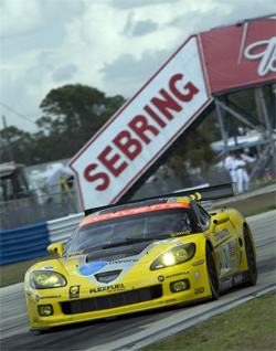 No. 3 Compuware Corvette C6.R completes 349 laps in the Mobile 1 Twelve Hours of Sebring