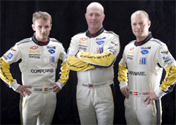 Corvette Racing No. 3 C6.R  Drivers Antonio Garcia, Johnny O'Connell and Jan Magnussen