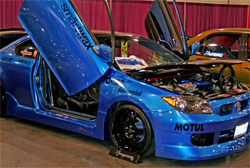 2006 Scion tC doubles as a show vehicle and a daily driver for Los Angeles area resident Jeff Maldonado