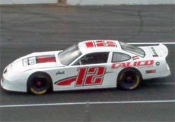 Caitlin Shaw drove in her first late model stock car event at Hickory Motor Speedway in Newton, North Carolina