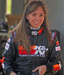 K&N Development Driver Caitlin Shaw Moved up to NASCAR Whelen All American Series