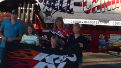 These were the lucky fans from the Brigden, Ontario event, receiving their prize.