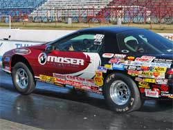 Late Model Camaro is one of many competition vehicles for former IHRA World Champions Britt and Slate Cummings