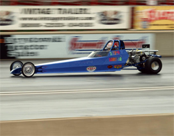 Fifth grade girl his IHRA and NHRA wins on her racing resume with her Junior Dragster