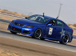 2009 Lexus Is F will be featured in the K&N booth at SpoCom the Sport Compact Automotive Trade Event in Long Beach, California