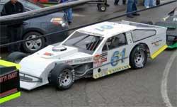 Brad Springer's No. 61 Rapid Racecar