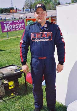 Brad Springer finished 4th in the O'Reilly USA Modified Series in 2007 and has over 20 top five finishes