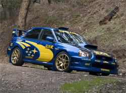 The 2005 Subaru WRX Sti was designed after World Rally Championship vehicles on the European Circuit