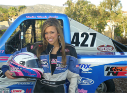 High School Sophomore Taylor Nicole Snyder is ready for the Lucas Oil Off-Road Racing Series