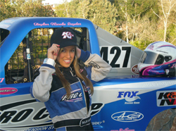 Taylor Nicole Snyder will race at select Monster Jam Trophy Kart Invitationals