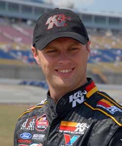 Travis Kvapil Top Competitor at Kentucky Speedway
