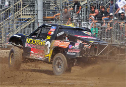 Todd LeDuc shows strength at opening weekend of The Off Road Racing Series TORC in Ft. Worth, Texas
