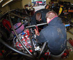 Rockstar Makita Team LeDuc depends on K&N air and oil filters on and off the track