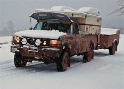 Siberian Road Trip for the Turtle Expedition with K&N Air Filter