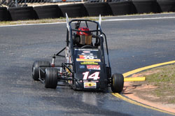 Seven year old Tyler Clem had a two-championship seasons winning the Tampa Track Jr. Honda Division and the Eastern USAC Jr.