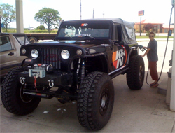 One of the requirements for the Ultimate Adventure is rigs must be able to go 150 miles without having to stop for fuel