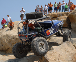 Off the beaten path, the Ultimate Adventure Four Wheeling Road Trip drivers met different types of terrain