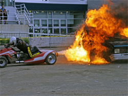 Psycho jet 4 wheeler helps Vaters close out final Monster Spectacular