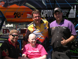 Monster Truck drivers at cancer benefit for kids in Maryland