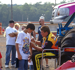 Michael Vaters said he always finds time for his fans at Monster Jam Events