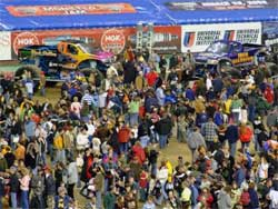 Monster Jam crowd at full capacity, photo courtesy of Paul M. Harry