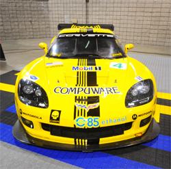 Corvette Racing's No. 4 Compuware Corvette C6.R ready for Twelve Hours of Sebring