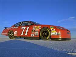 NASCAR-spec Dodge Charger at Bonneville