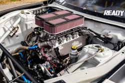 Image of the RTR engine bay