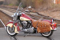 The Indian Chief Vintage. Photo credit to Indian Motorcycles.