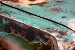 Car with severe corrosion